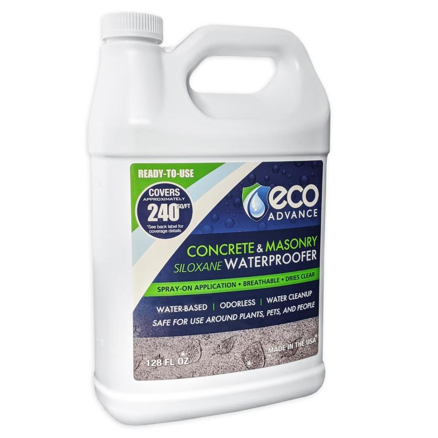 Eco Advance White But Dries Clear Flat Waterproofer (Actual Net Contents: 1-Gallon)