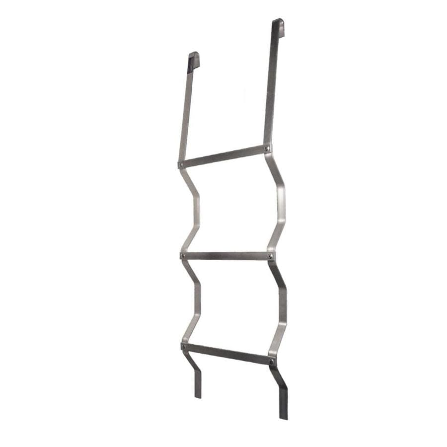 Adjust-A-Grate 4-1/8-ft Aluminum 300-lb Window Well Escape Ladder