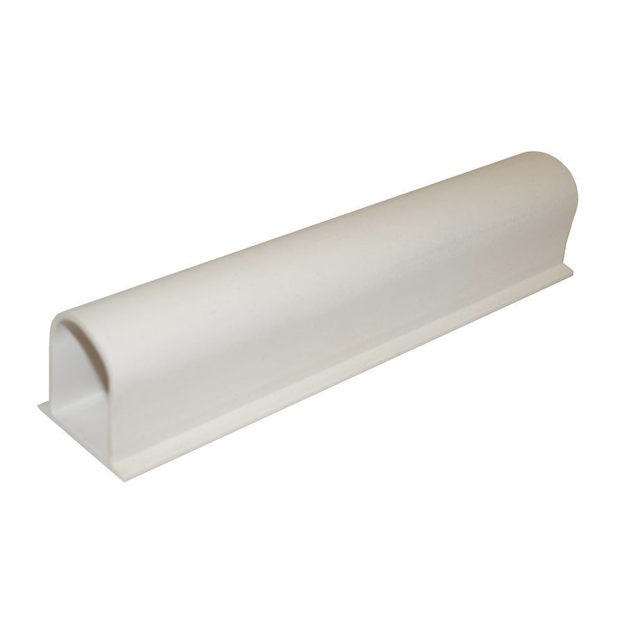 shop accessible construction white styrene shower threshold at lowes com