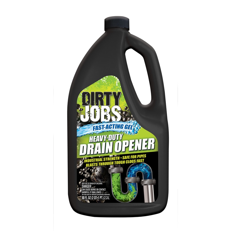 Dirty Jobs 80 fl-oz Drain Cleaner