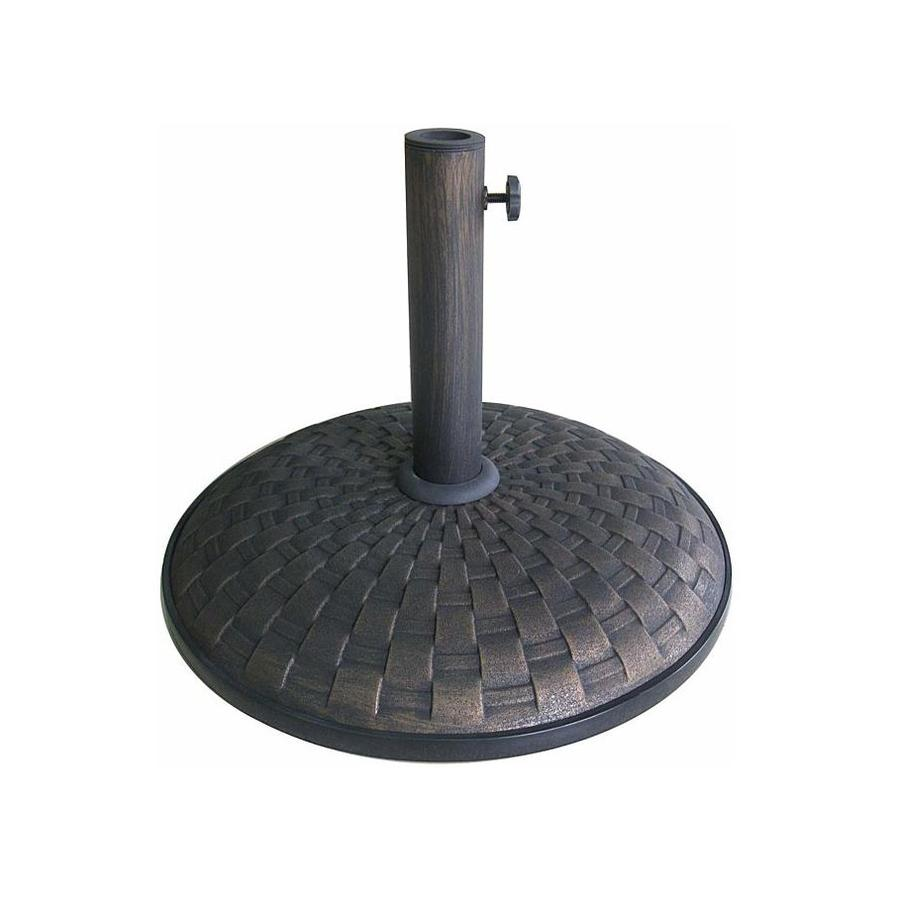 Shop Lauren Amp Company Bronze Concrete Umbrella Base At