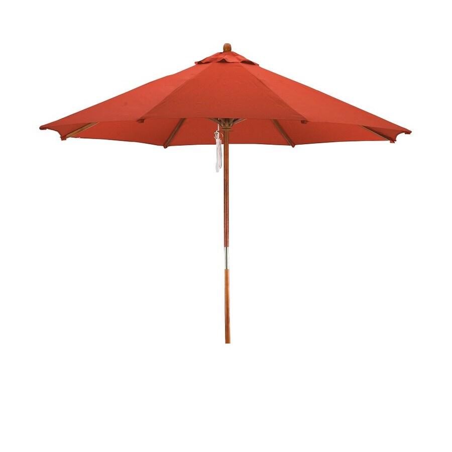 Lauren & Company Patio Umbrella (Common: 108-in W x 108-in L; Actual: 108-in W x 108-in L)