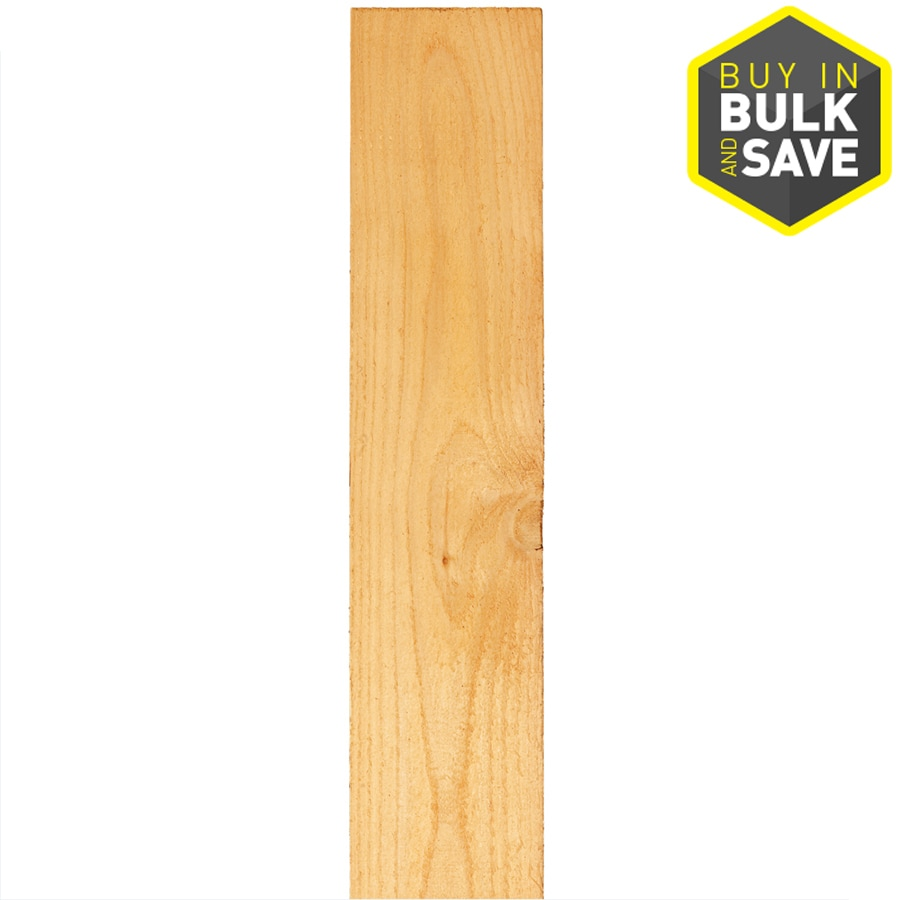 Severe Weather (Common: 5/8-in x 3-1/2-in x 5-ft; Actual: 0.57-in x 3.5-in x 5-ft) Natural Western Red Cedar Fence Picket