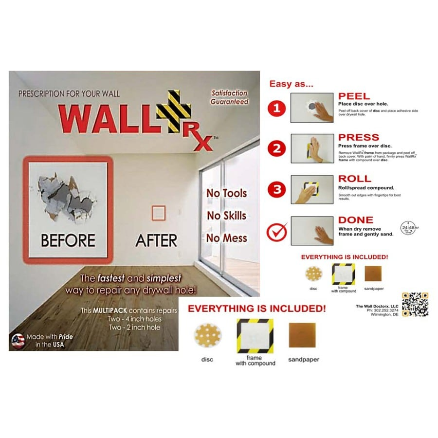 WallRX Drywall Repair Kit