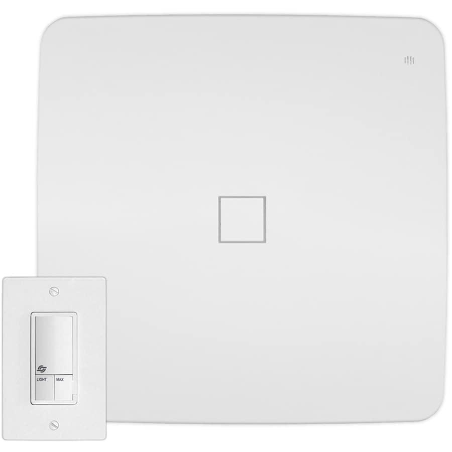 Veent 1.3-Sone 120-CFM White Bathroom Fan