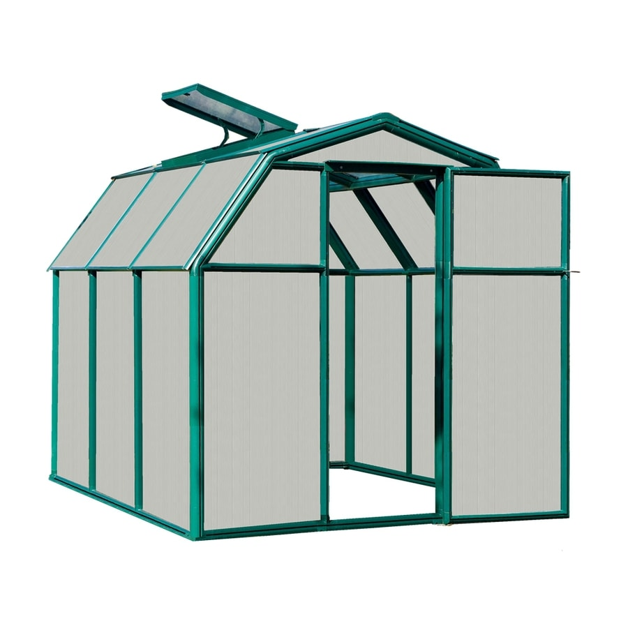 Rion 7.58-ft L x 6.5-ft W x 6.5-ft H Plastic Poly Sheeting Greenhouse
