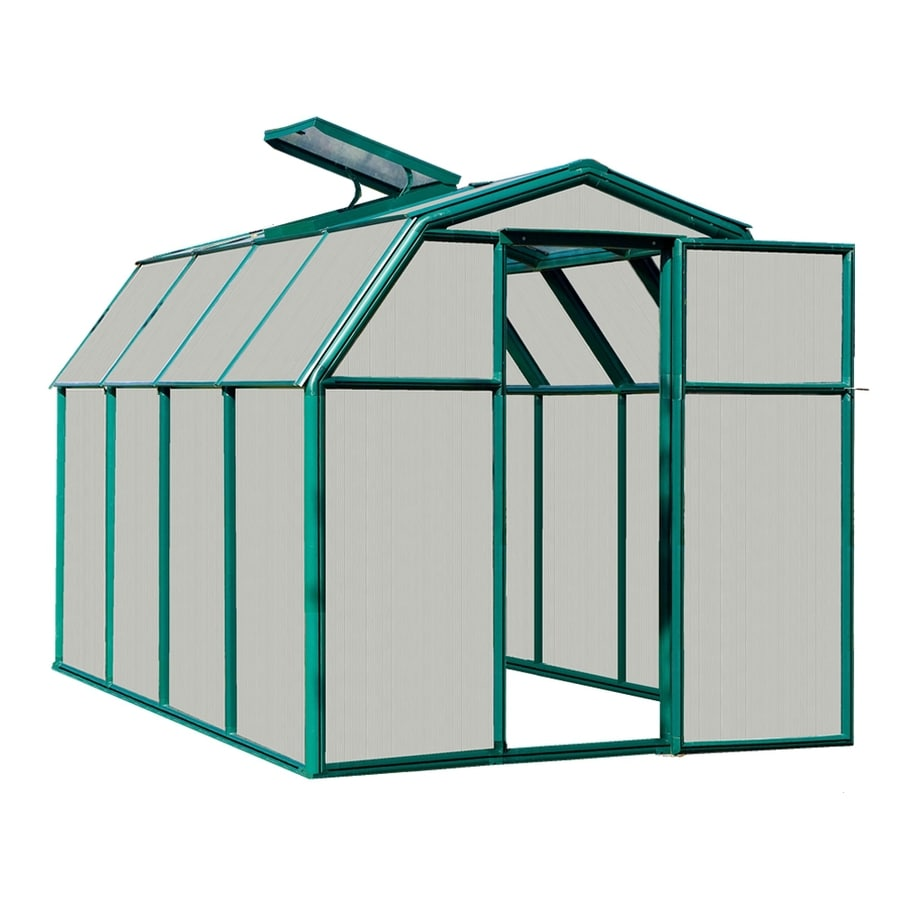 Rion 10.08-ft L x 6.5-ft W x 6.5-ft H Plastic Poly Sheeting Greenhouse
