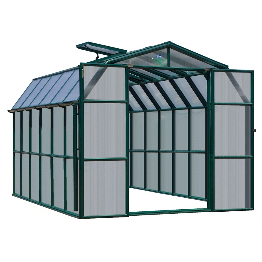Rion 12.5-ft L x 8.5-ft W x 8-ft H Plastic Poly Sheeting Greenhouse