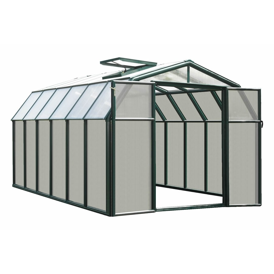 Rion 12.5-ft L x 8.5-ft W x 6.5-ft H Plastic Poly Sheeting Greenhouse