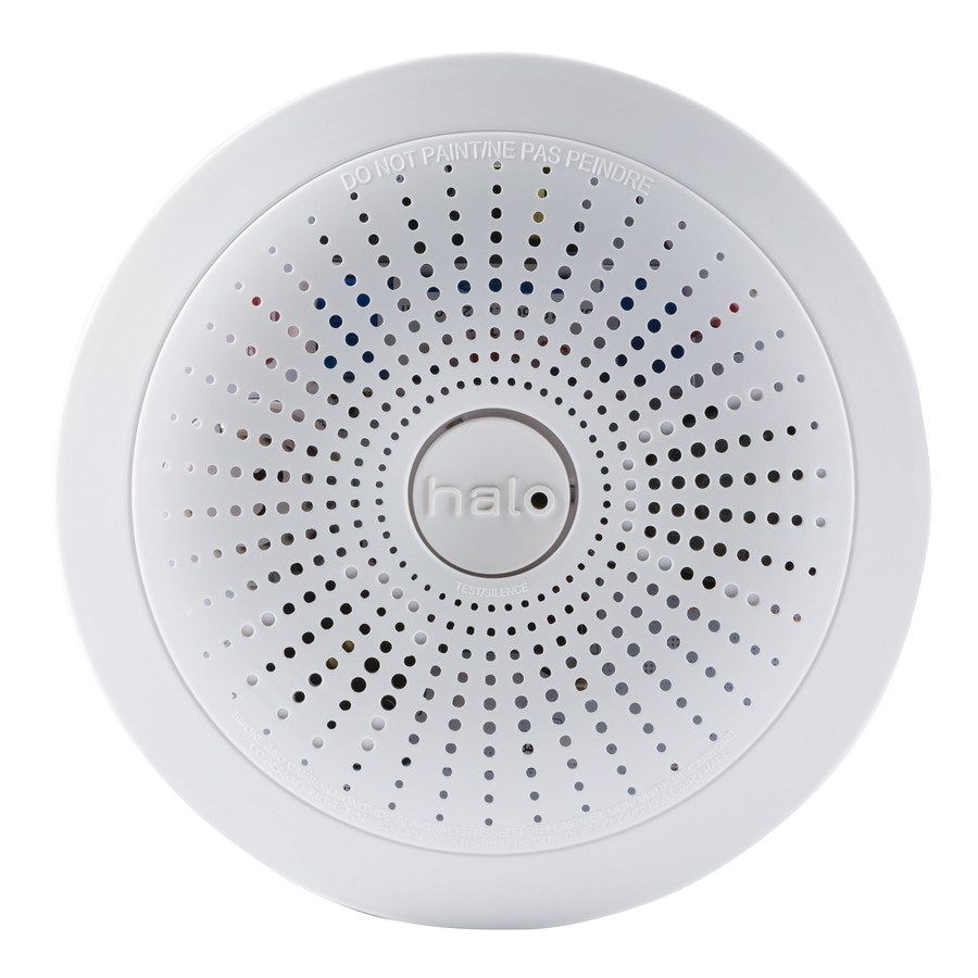Halo Ac Hardwired Photoelectric Sensor Combination Smoke and Carbon Monoxide Detector Battery Back-Up