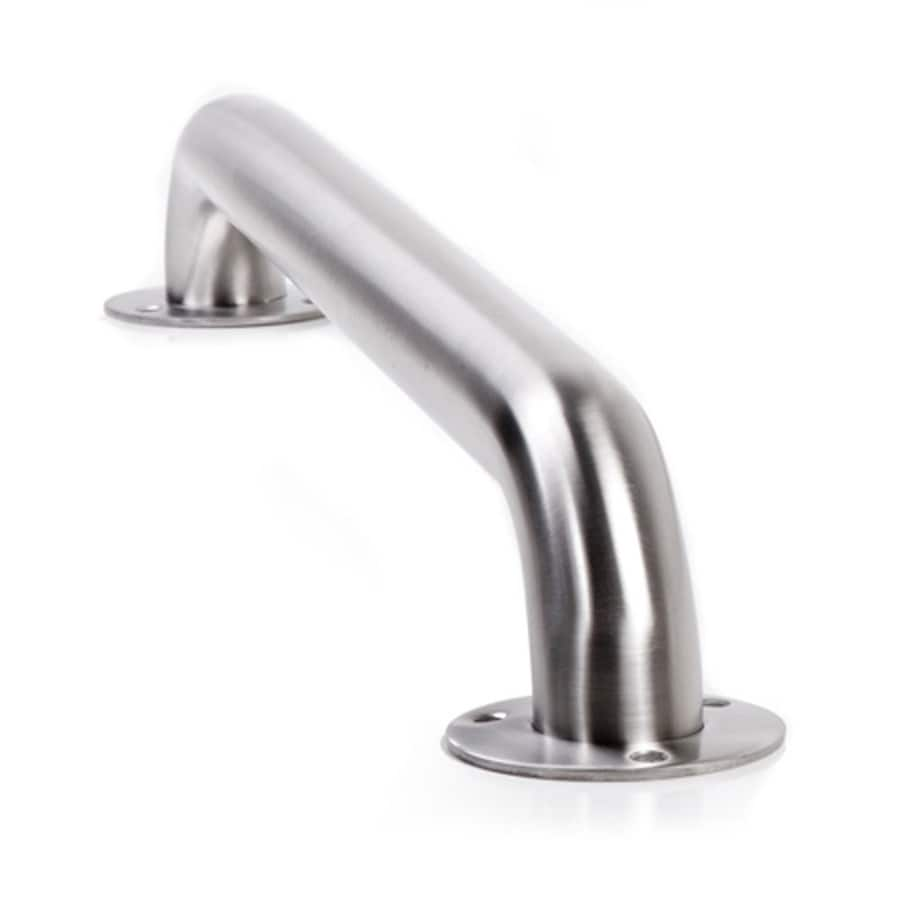 ARISTA 18-in Stainless Steel Wall Mount Grab Bar