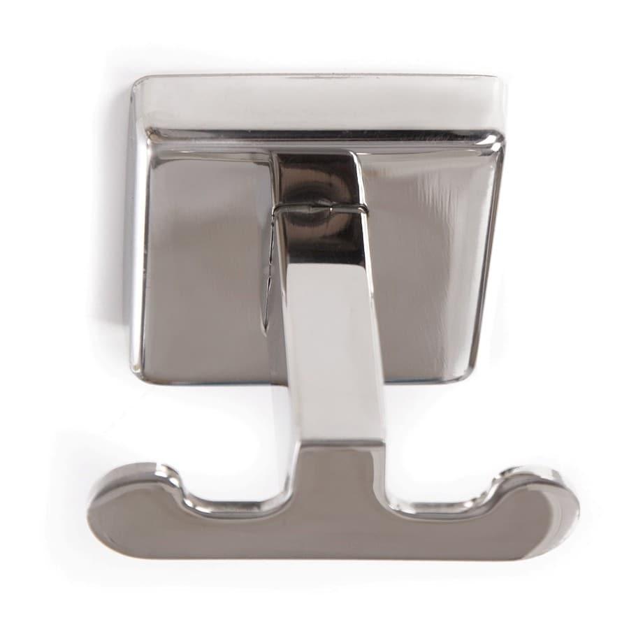 ARISTA Byrne 2-Hook Polished Stainless-Steel Robe Hook
