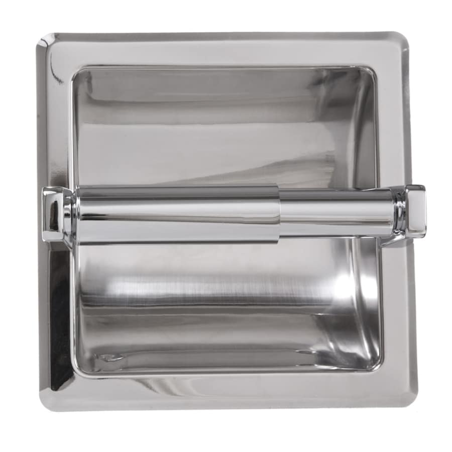 ARISTA Chrome Recessed Toilet Paper Holder
