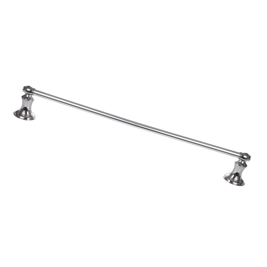 ARISTA Highlander Chrome Single Towel Bar (Common: 24-in; Actual: 24-in)