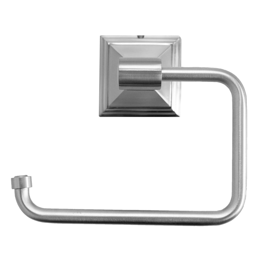 ARISTA Leonard Satin Nickel Surface Mount Toilet Paper Holder