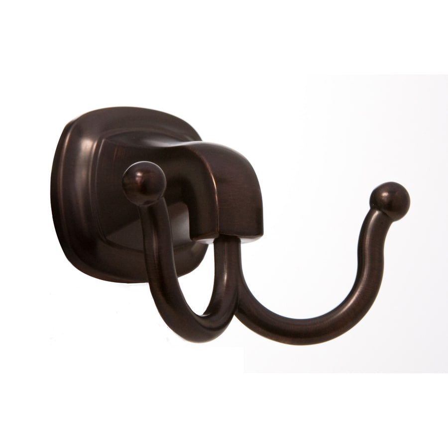 ARISTA Belding 2-Hook Oil-Rubbed Bronze Robe Hook