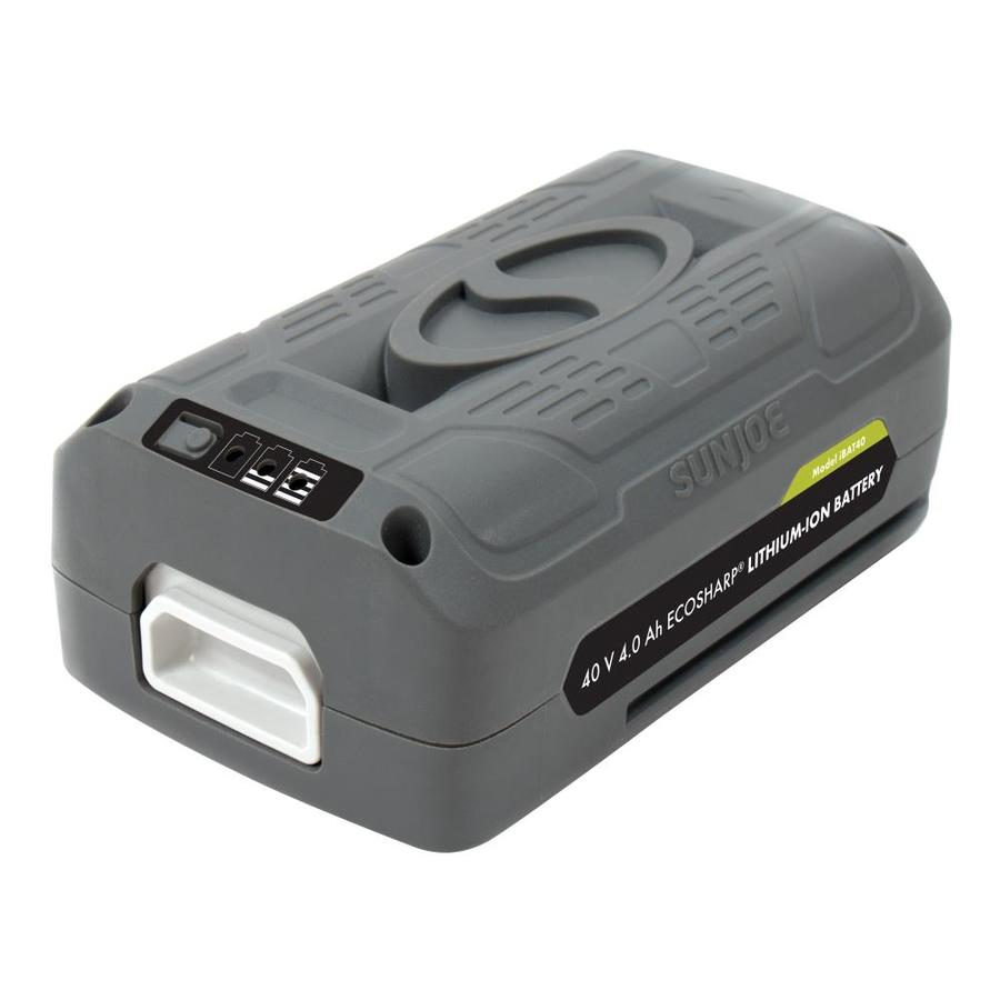 Snow Joe 40-Volt 4-Amp Rechargeable Lithium Ion (Li-Ion) Cordless Power Equipment Battery