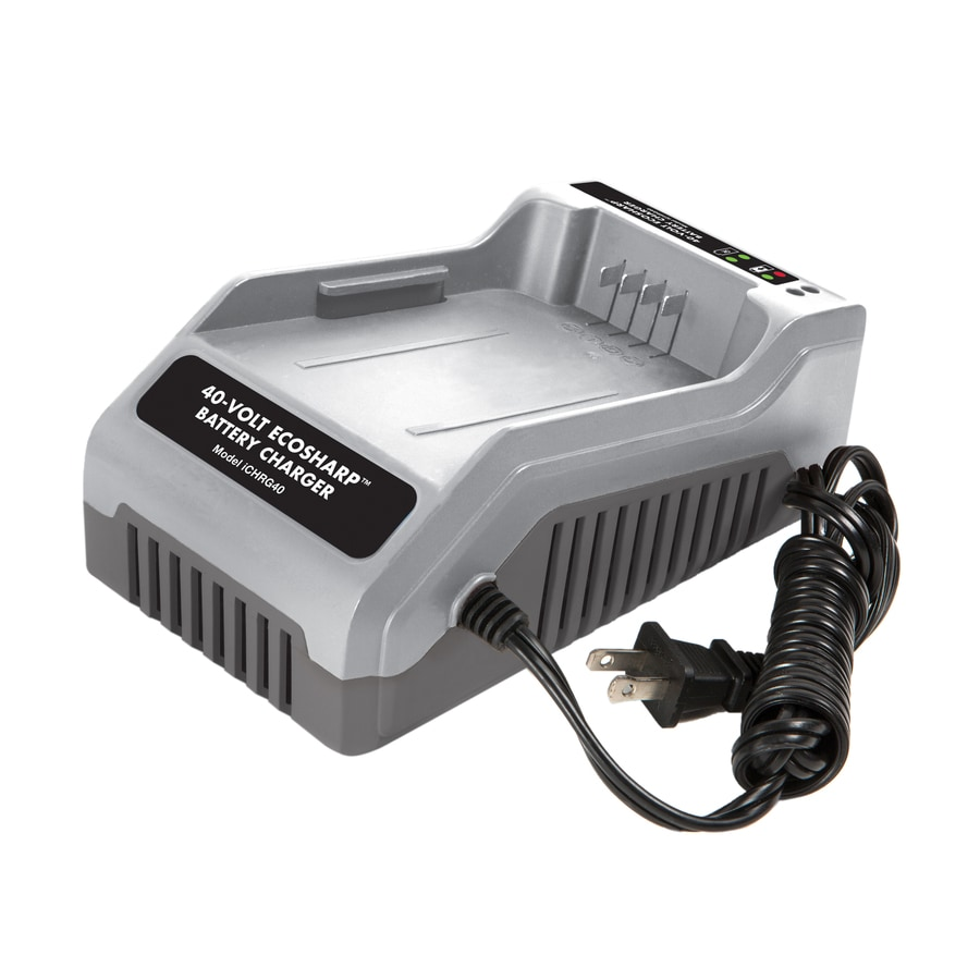 Snow Joe 40-Volt Lithium Ion (Li-Ion) Cordless Power Equipment Battery Charger