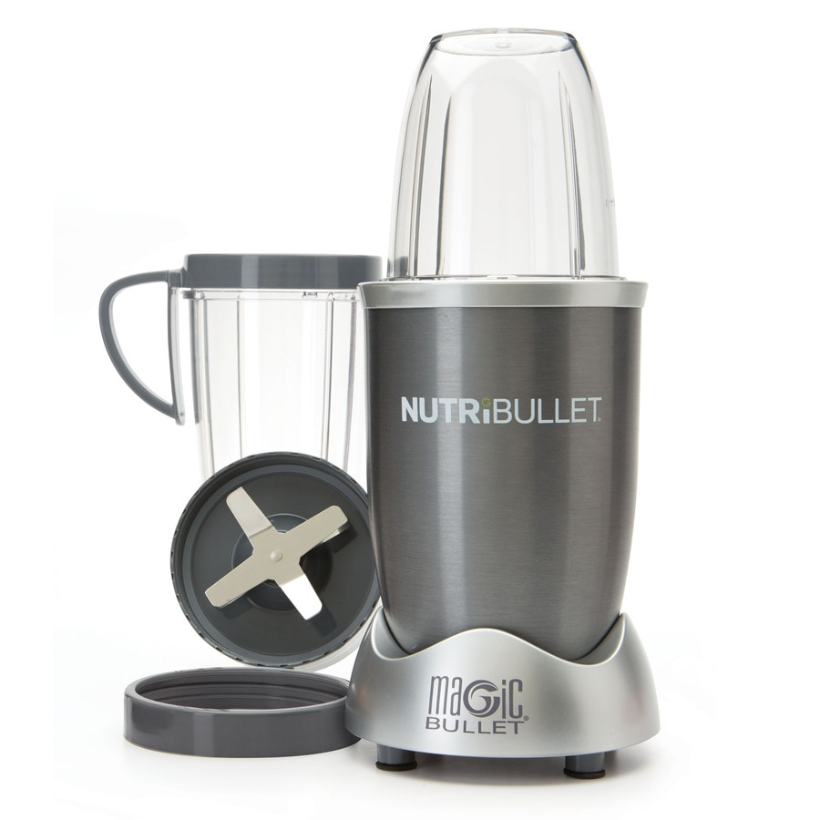 Magic Bullet 24-oz Gray 1-Speed 600-Watt Blender
