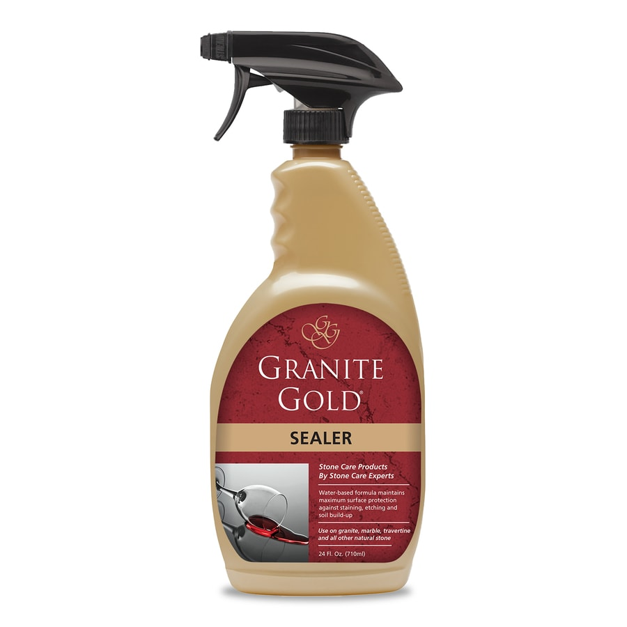 granite countertop sealer lowes shop granite gold sealers 24 oz granite sealer at lowes 760