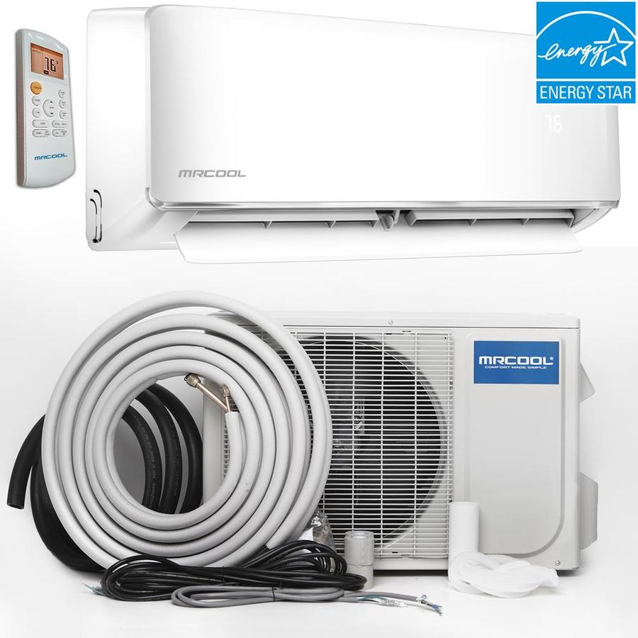 Shop mrcool oasis es 18000 btu 750 sq ft single ductless for 18000 btu window air conditioner lowes