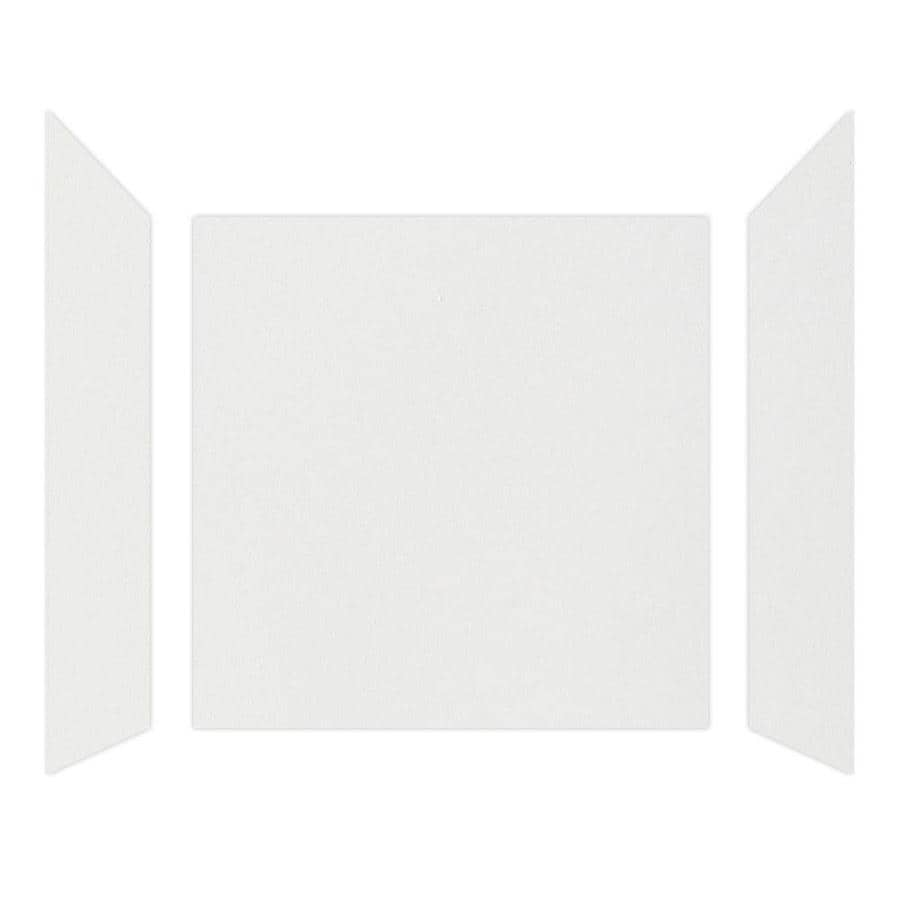 Curava Quartz Narvik Shower Wall Surround Side and Back Wall Kit (Common: 32-in x 30-in; Actual: 60-in x 32-in x 30-in)