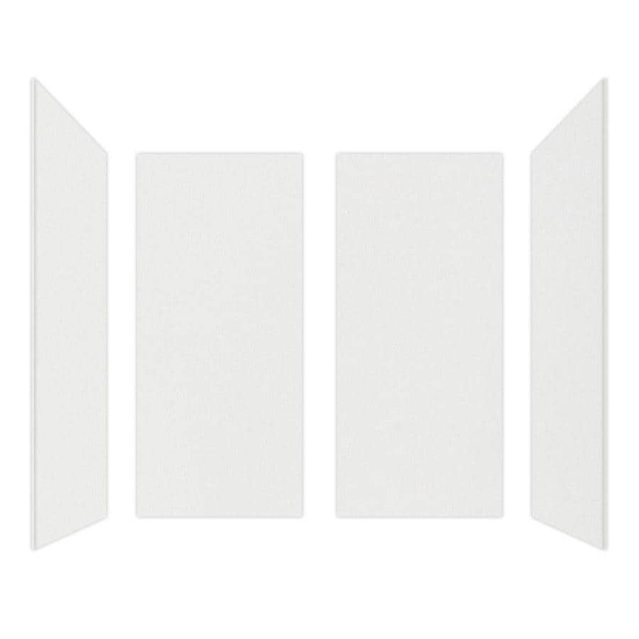 Curava Quartz Narvik Shower Wall Surround Side and Back Wall Kit (Common: 32-in x 32-in; Actual: 60-in x 32-in x 30-in)