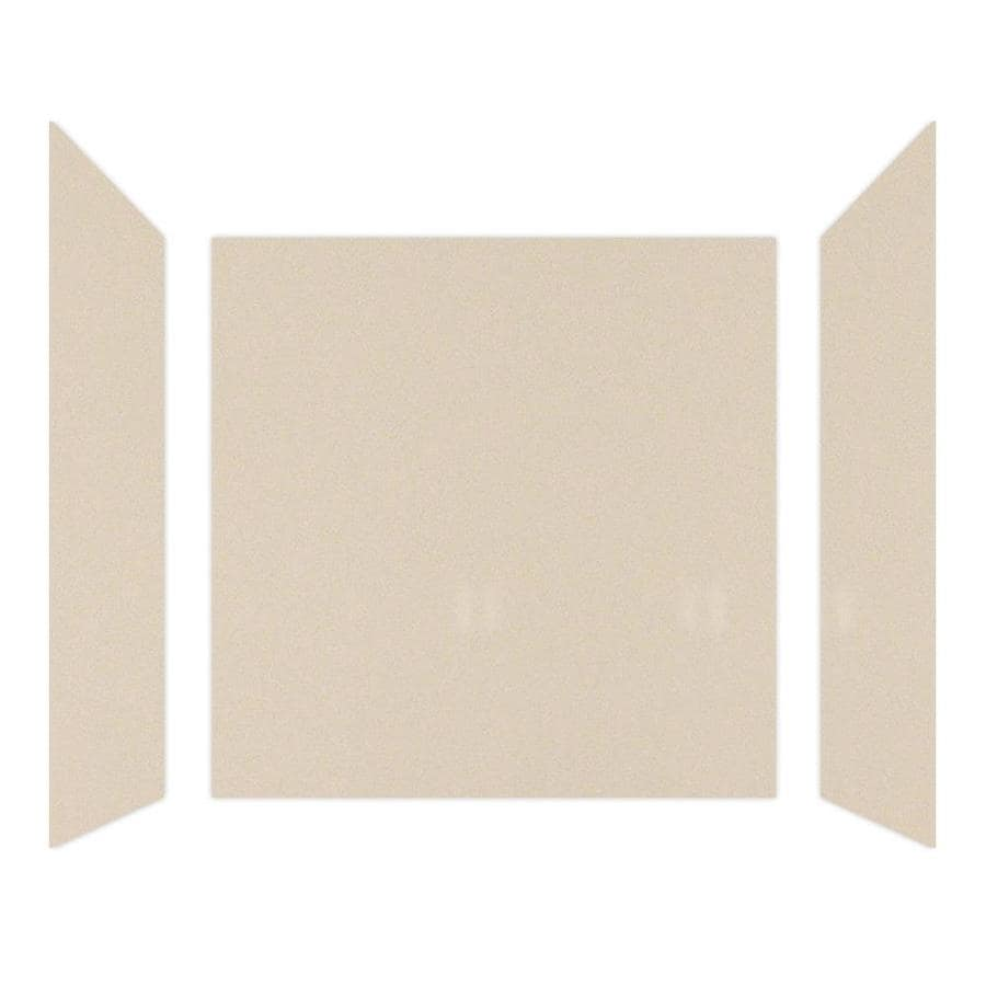 Curava Quartz Playa Shower Wall Surround Side And Back Wall Kit (Common: 60-in x 32-in; Actual: 61-in x 60-in x 31.5-in)