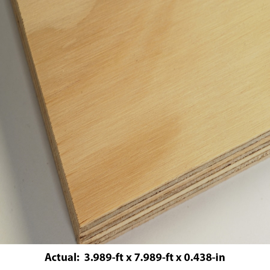 Araucoply 15 32 In Common Radiata Pine Sanded Plywood Application As 4 X 8 In The Plywood Department At Lowes Com