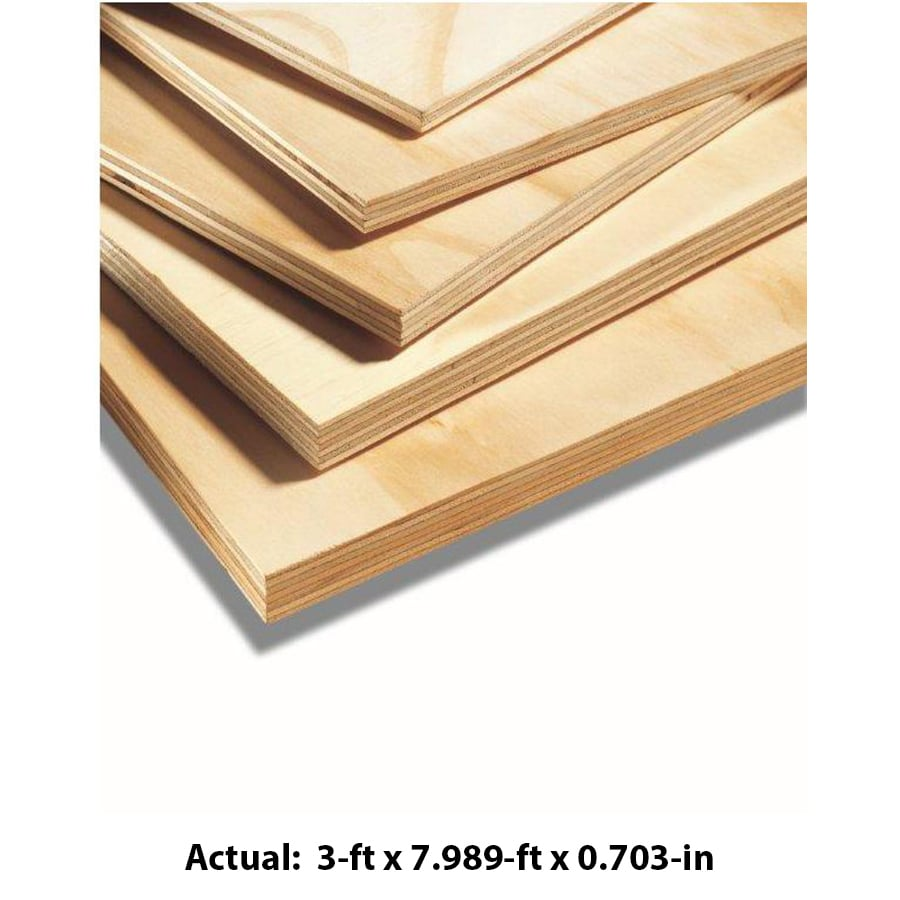 23/32 CAT PS1-09 Radiata Pine Sanded Plywood, Application as 4 x 8