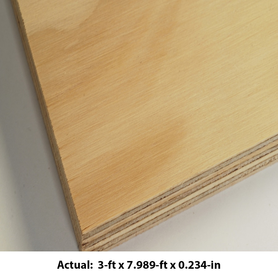 AraucoPly 1/4 CAT PS1-09 Radiata Pine Sanded Plywood, Application as 4 x 8