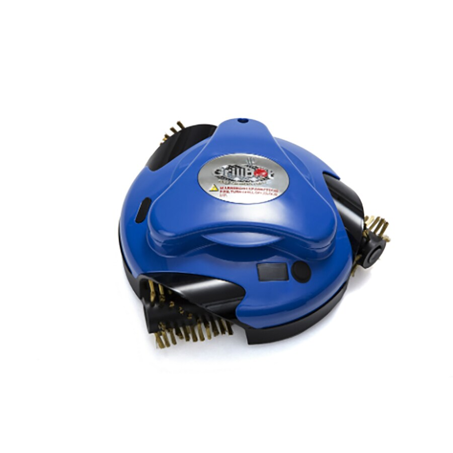 Grillbot Blue 7.4-Volt Lithium Ion (Li-ion) Battery Automatic Grill Cleaner