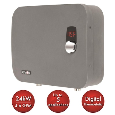 Tankless Electric Water Heaters At Lowes Com
