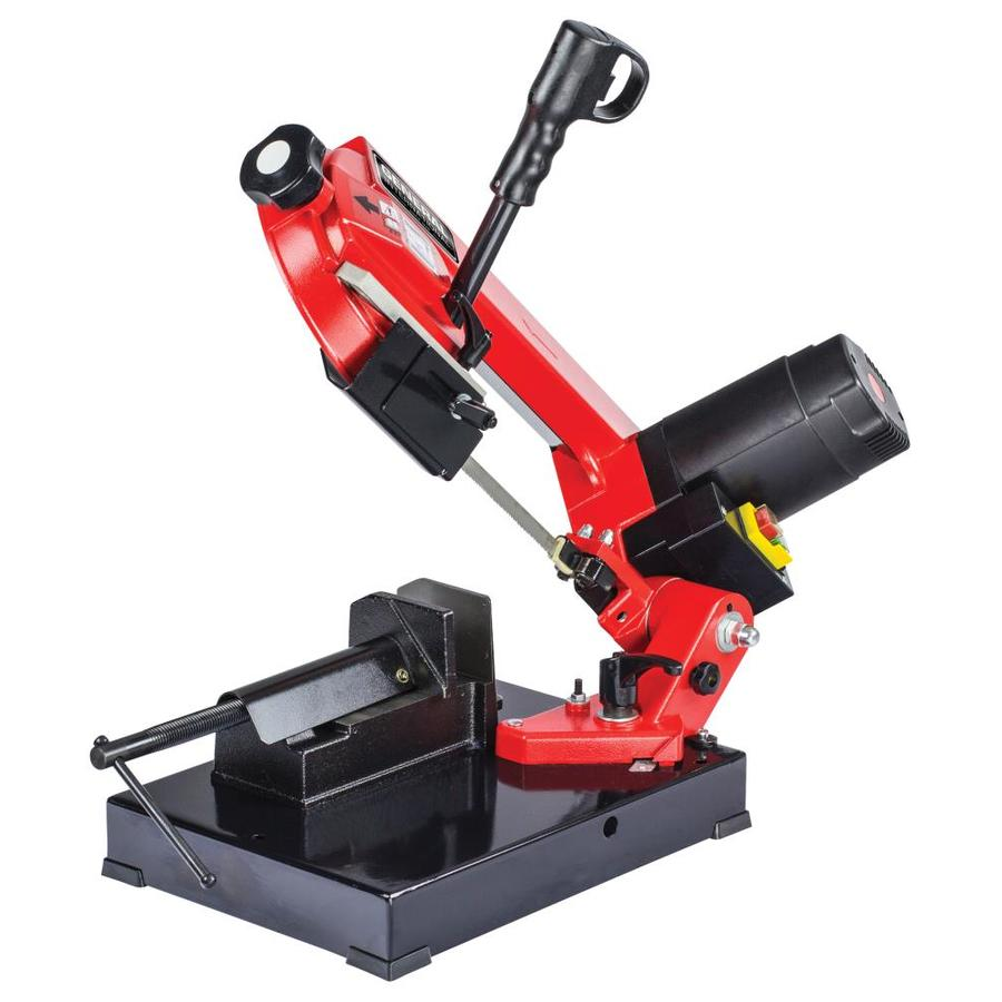 """4/"""" 5A Metal Cutting Band Saw Compact Bench Top Tool Heavy Duty Steel Base New"""