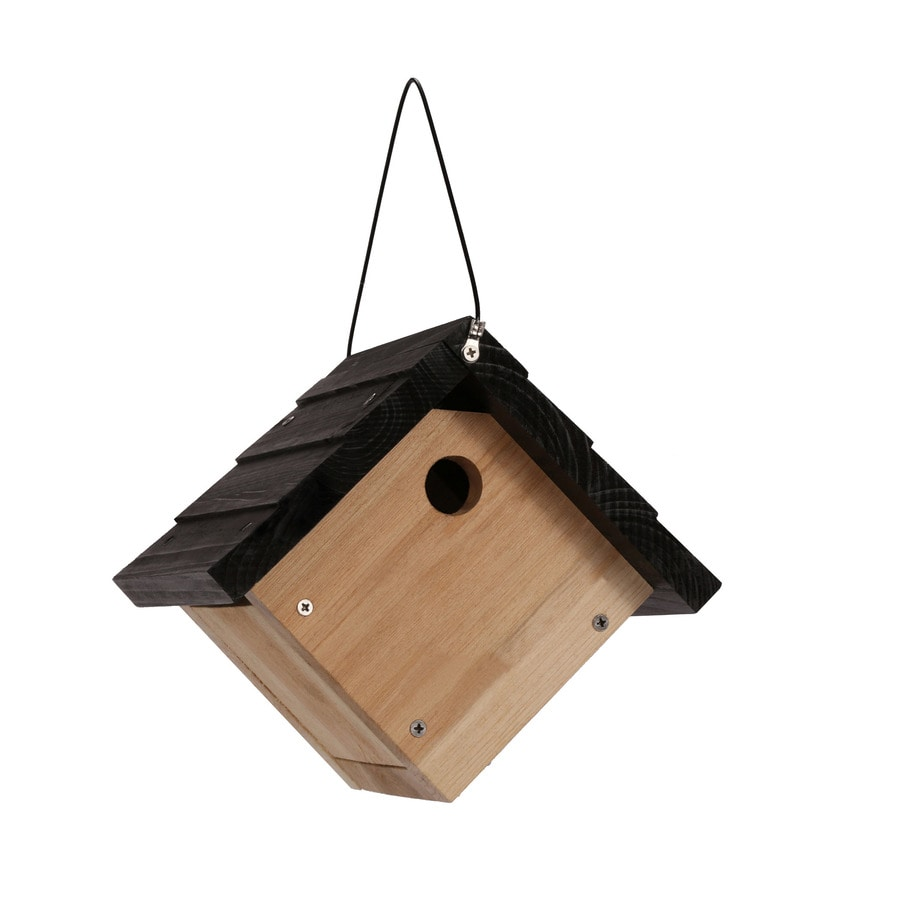 Garden Treasures 8.875-in W x 8-in H x 8.125-in D Cedar Bird House