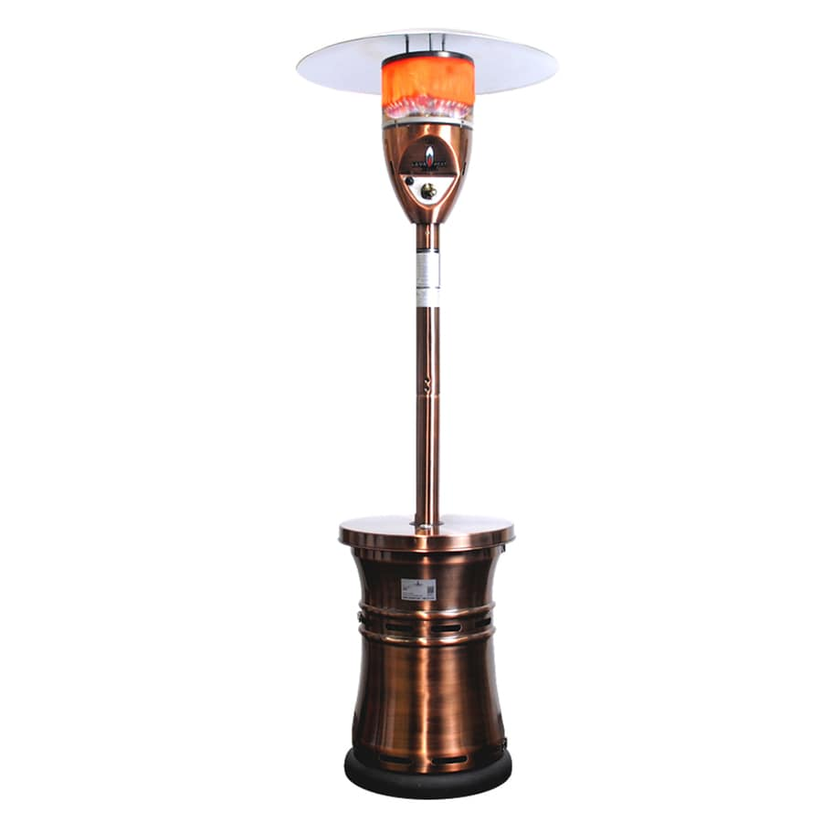 Lava Heat Italia 48,000-BTU Copper Steel Floorstanding Liquid Propane Patio Heater