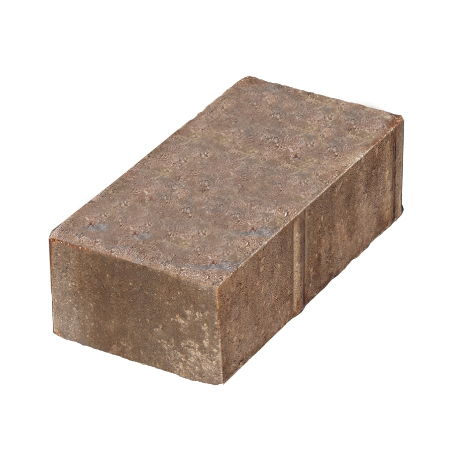 Holland Southwest Blend Paver (Common: 4-in x 8-in; Actual: 3.78-in x 7.75-in)
