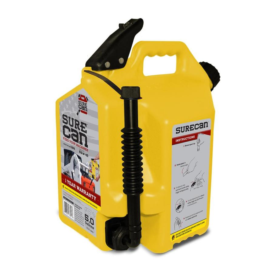SureCan 5-Gallon Plastic Diesel Fuel Can