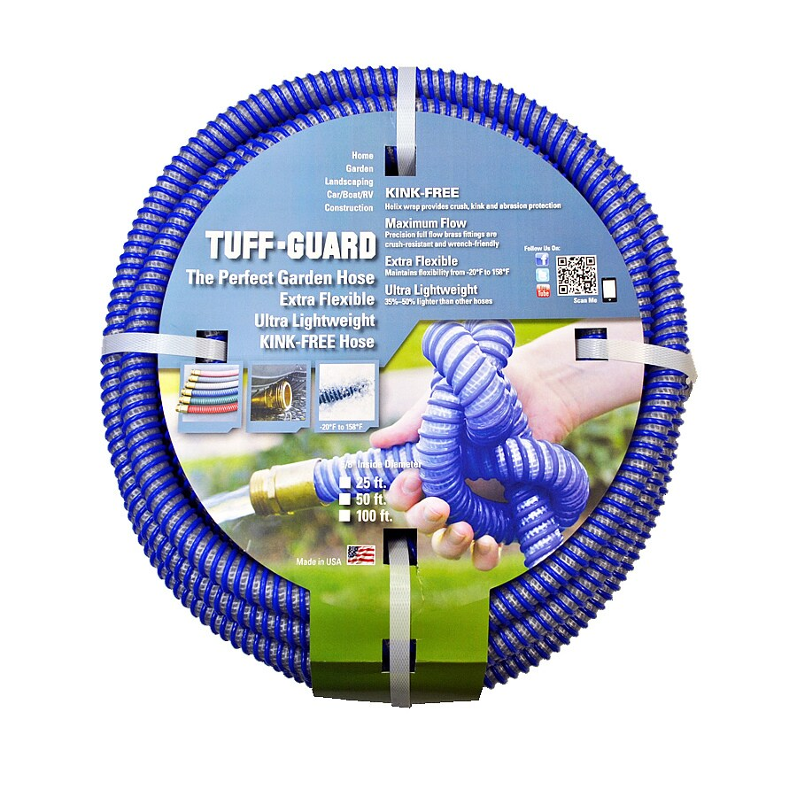 Tuff-Guard 5/8-in x 100-ft Heavy-Duty Kink Free Garden Hose