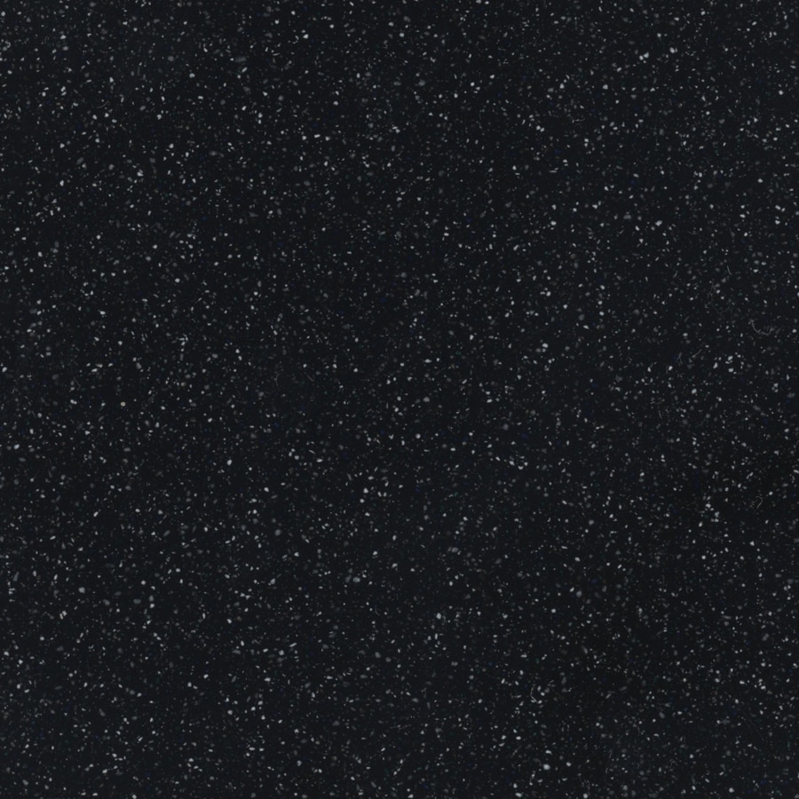 Allen + Roth Black Tie Solid Surface Kitchen Countertop Sample