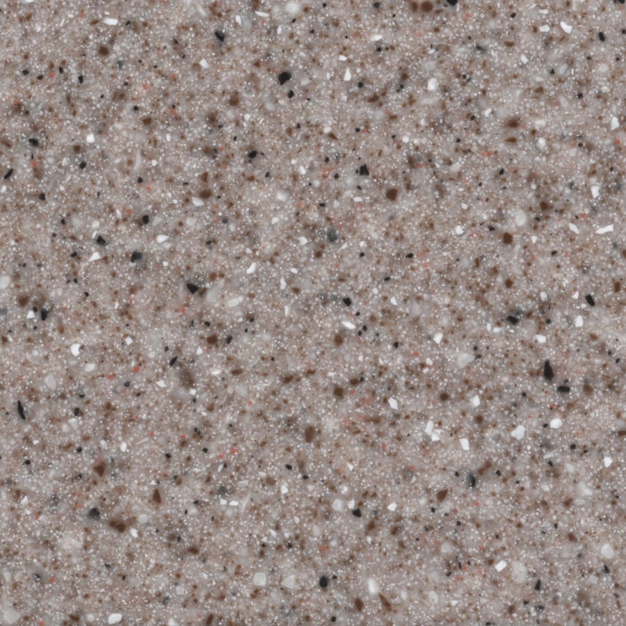 allen + roth Pink Sand Solid Surface Kitchen Countertop Sample