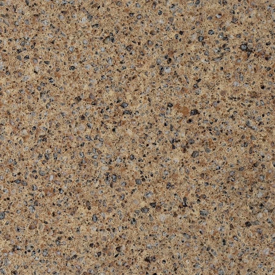 Shop allen roth gruene quartz kitchen countertop sample for Lowes countertops
