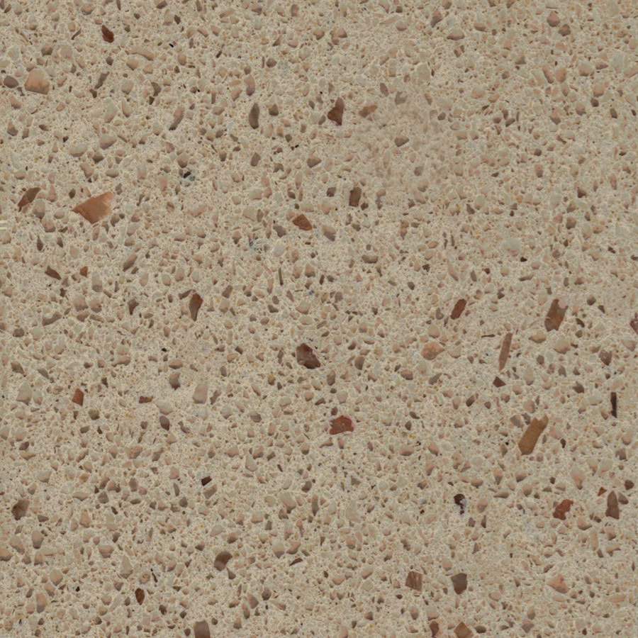 Shop allen roth chelan quartz kitchen countertop sample for Who makes quartz countertops