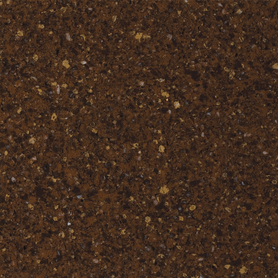Allen + Roth Kenai Red Quartz Kitchen Countertop Sample