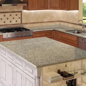 Allen + Roth Nutmeg Quartz Kitchen Countertop Sample