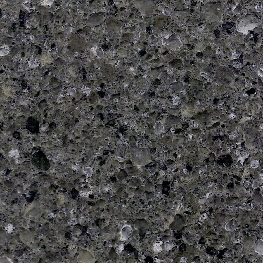 Shop allen roth coho quartz kitchen countertop sample at for Who makes quartz countertops