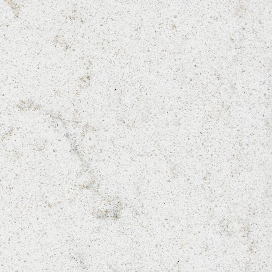 Kitchen Countertops Quartz Colors: Allen + Roth Sugarbrush Quartz Kitchen Countertop Sample