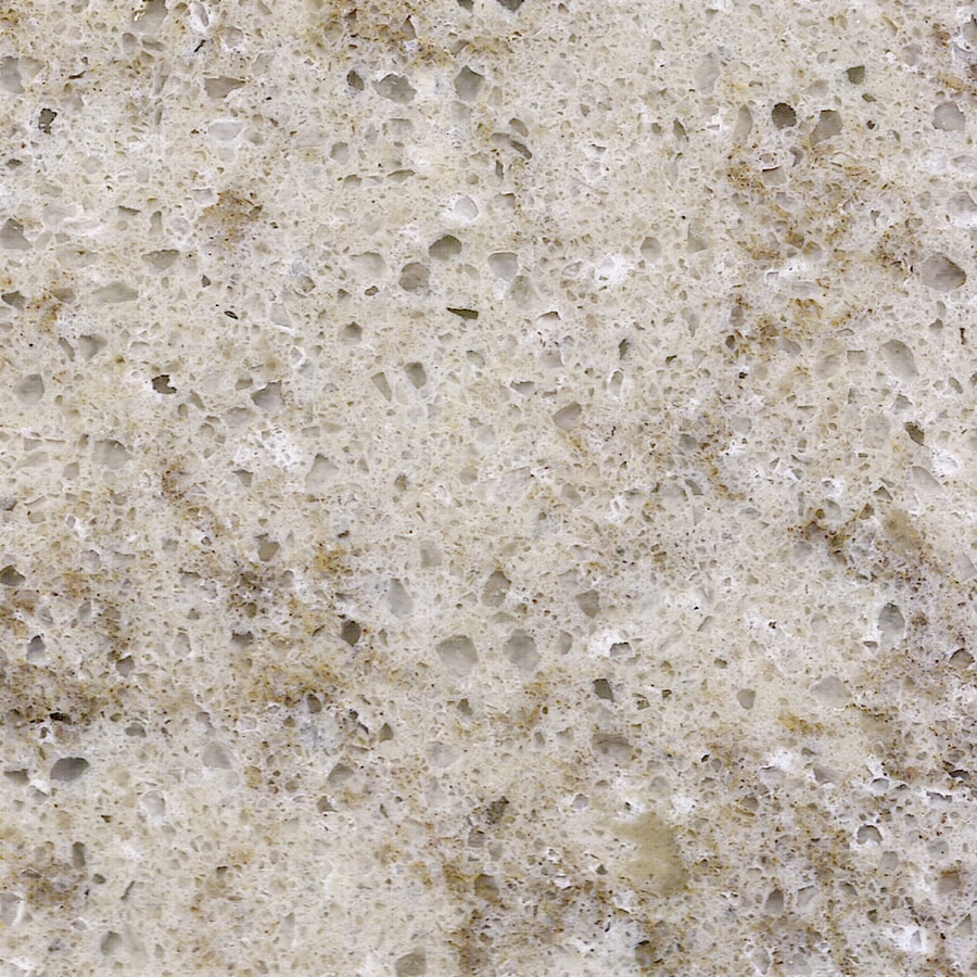 Shop Quartz Countertops : Shop allen + roth Kelsey Creek Quartz Kitchen Countertop Sample at ...