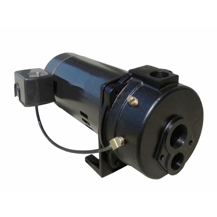 Shop water pumps at lowes utilitech 1 hp cast iron convertible jet well pump ccuart Images