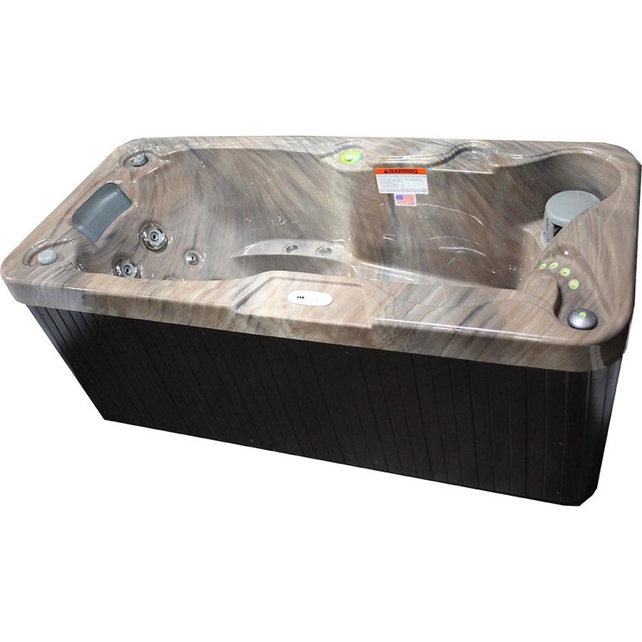 Shop Hudson Bay Spas 1-Person Rectangular Hot Tub at Lowes.com